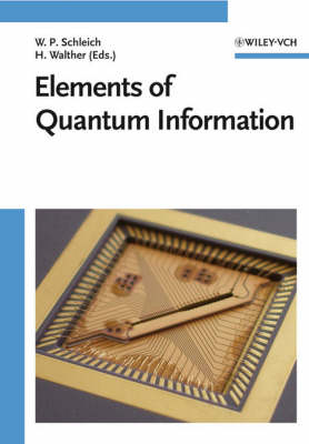 Elements of Quantum Information (Hardback)