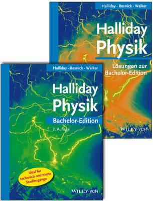 Halliday Bachelor Deluxe - Lehrbuch mit Losungsband 2. Auflage (Paperback)