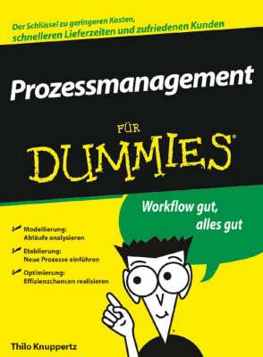 Prozessmanagement Fur Dummies - Fur Dummies (Paperback)
