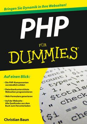 PHP Fur Dummies - Fur Dummies (Paperback)