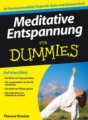 Meditative Entspannung Fur Dummies - Fur Dummies (Paperback)