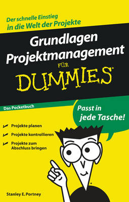 Grundlagen Projektmanagement Fur Dummies das Pocketbuch - Fur Dummies (Paperback)