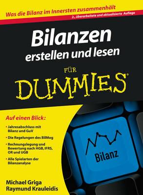 Bilanzen Erstellen Und Lesen Fur Dummies - Fur Dummies (Paperback)