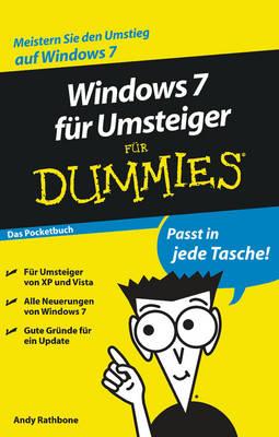 Windows 7 Fur Umsteiger Fur Dummies: Das Pocketbuch (Paperback)