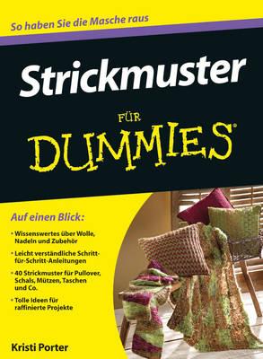 Strickmuster fur Dummies - Fur Dummies (Paperback)