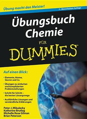 Ubungsbuch Chemie Fur Dummies - Fur Dummies (Paperback)