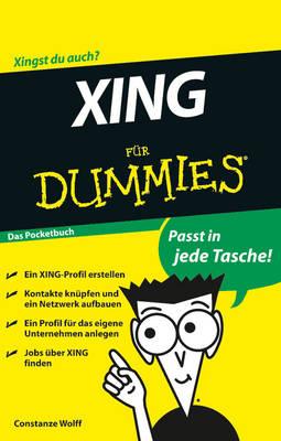 Xing Fur Dummies Das Pocketbuch (Paperback)