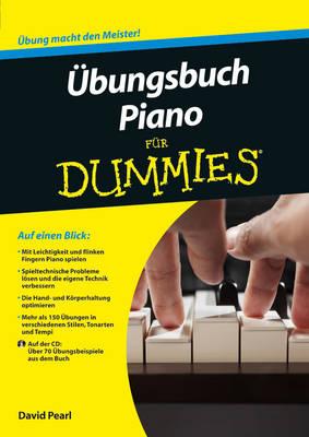 UEbungsbuch Piano fur Dummies - Fur Dummies (Paperback)