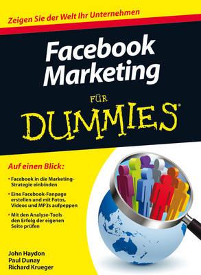 Facebook Marketing Fur Dummies - Fur Dummies (Paperback)