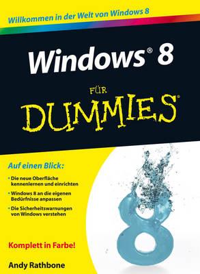 Windows 8 Fur Dummies - Fur Dummies (Paperback)