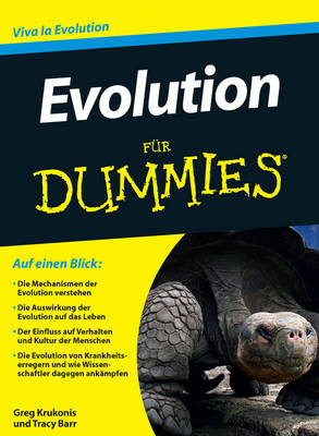 Evolution fur Dummies - Fur Dummies (Paperback)