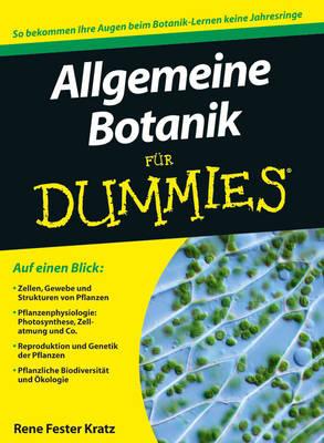 Allgemeine Botanik fur Dummies - Fur Dummies (Paperback)