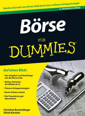 Borse Fur Dummies - Fur Dummies (Paperback)