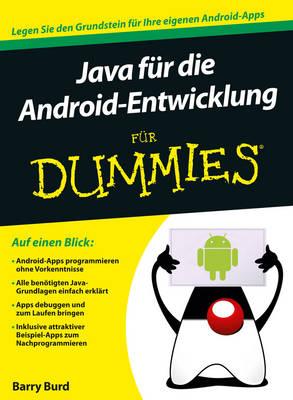 Java fur die Android-Entwicklung fur Dummies - Fur Dummies (Paperback)