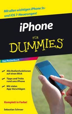 iPhone Fur Dummies das Pocketbuch - Fur Dummies (Paperback)