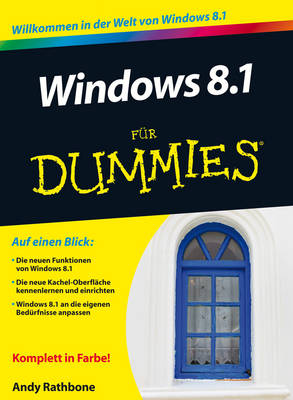 Windows 8.1 Fur Dummies - Fur Dummies (Paperback)