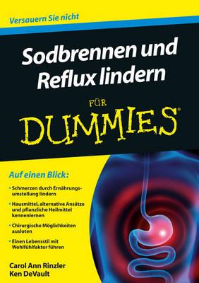 Sodbrennen und Reflux lindern fur Dummies - Fur Dummies (Paperback)
