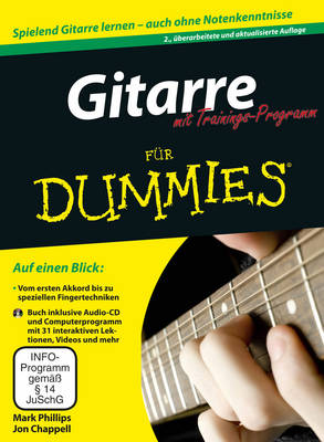 Gitarre fur Dummies mit Trainings-Programm - Fur Dummies (Paperback)