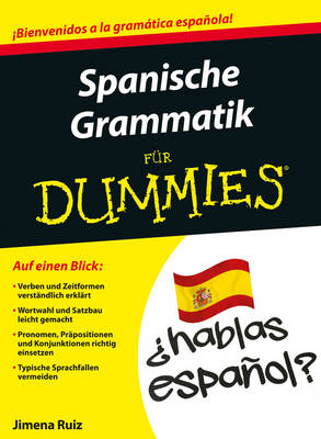 Spanische Grammatik fur Dummies - Fur Dummies (Paperback)