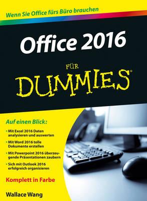 Office 2016 fur Dummies - Fur Dummies (Paperback)