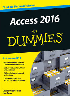 Access 2016 fur Dummies - Fur Dummies (Paperback)