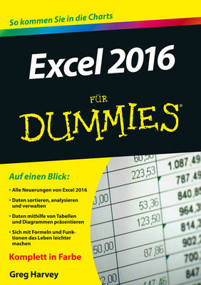 Excel 2016 fur Dummies - Fur Dummies (Paperback)