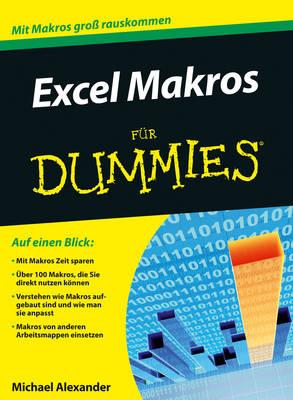 Excel Makros programmieren fur Dummies - Fur Dummies (Paperback)