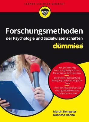 Forschungsmethoden der Psychologie und Sozialwissenschaften fur Dummies - Fur Dummies (Paperback)