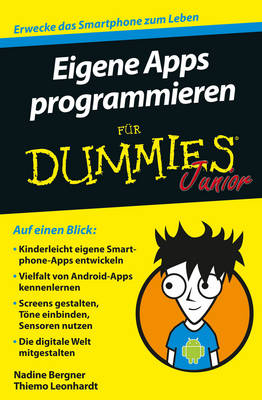 Eigene Apps programmieren fur Dummies Junior - Fur Dummies (Paperback)