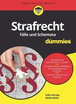 Strafrecht Falle und Schemata fur Dummies - Fur Dummies (Paperback)