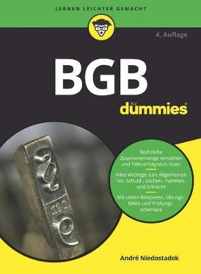 BGB fur Dummies - Fur Dummies (Paperback)