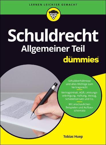 Schuldrecht Allgemeiner Teil fur Dummies - Fur Dummies (Paperback)