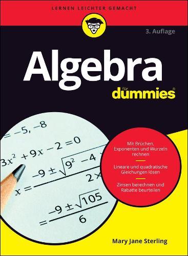 Algebra fur Dummies - Fur Dummies (Paperback)