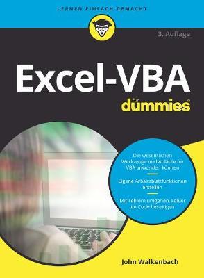 Excel-VBA fur Dummies - Fur Dummies (Paperback)