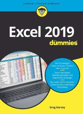 Excel 2019 fur Dummies - Fur Dummies (Paperback)