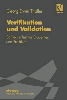 Verifikation Und Validation - Lehrbuch Informatik (Paperback)