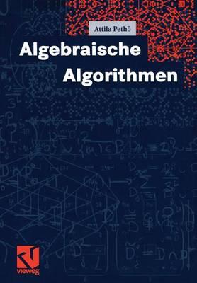 Algebraische Algorithmen (Paperback)