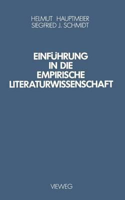 Einf hrung in Die Empirische Literaturwissenschaft (Paperback)