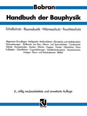 Handbuch der Bauphysik (Paperback)