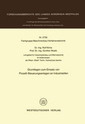 Grundlagen Zum Einsatz Von Proze -Steuerungsanlagen an Industrie fen (Paperback)