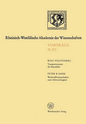 Rheinisch-Westfalische Akademie der Wissenschaften (Paperback)
