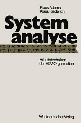 Systemanalyse (Paperback)