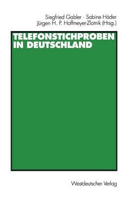 Telefonstichproben in Deutschland (Paperback)