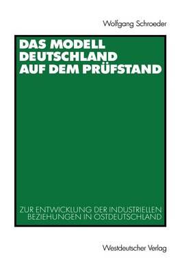 Das Modell Deutschland auf dem Prufstand (Paperback)