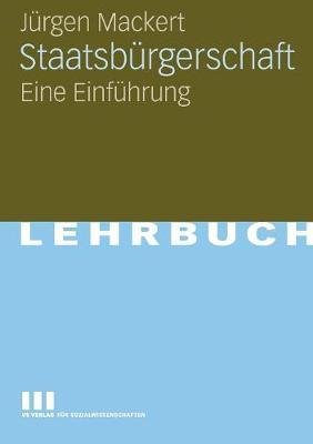 Staatsb rgerschaft: Eine Einf hrung (Paperback)