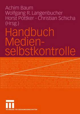 Handbuch Medienselbstkontrolle (Paperback)