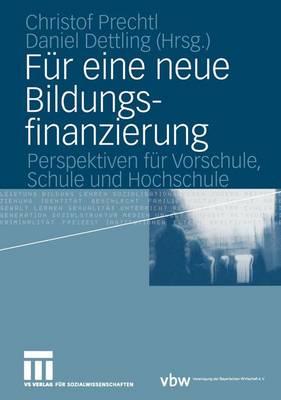 Fur Eine Neue Bildungsfinanzierung (Paperback)