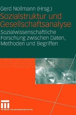 Sozialstruktur Und Gesellschaftsanalyse: Sozialwissenschaftliche Forschung Zwischen Daten, Methoden Und Begriffen (Hardback)
