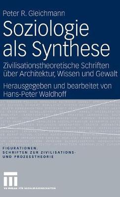 Soziologie ALS Synthese: Zivilisationstheoretische Schriften  ber Architektur, Wissen Und Gewalt - Figurationen. Schriften Zur Zivilsations- Und Prozesstheorie 7 (Hardback)