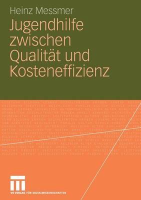 Jugendhilfe Zwischen Qualit�t Und Kosteneffizienz (Paperback)